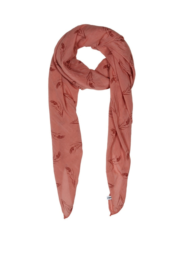 CORN SCARF LIGHT MAHOGNY