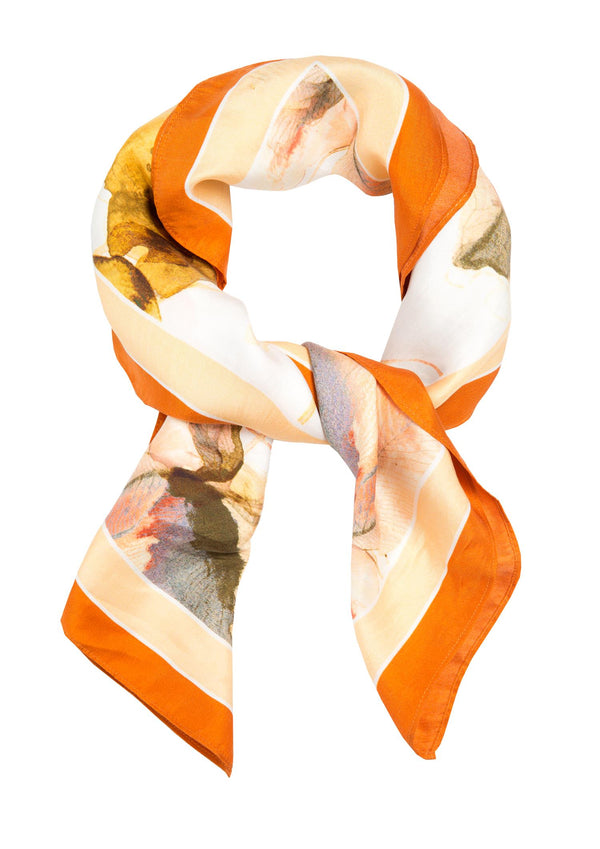 THE ARTIST ORANGE SCARF