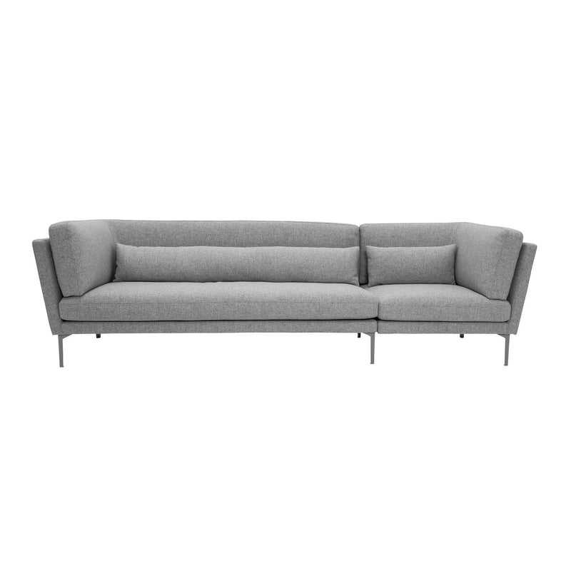 ROX SOFA GREY WOOL