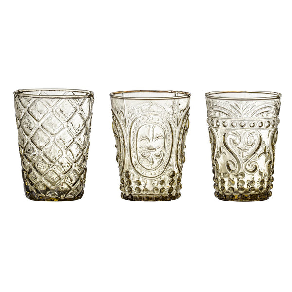 LASSI DRINKING GLASS SET OF 3