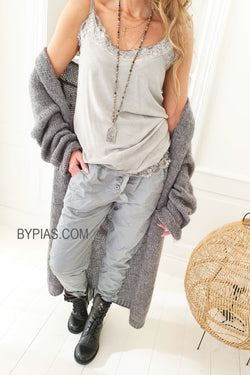 BUTTONS JOGGER GREY
