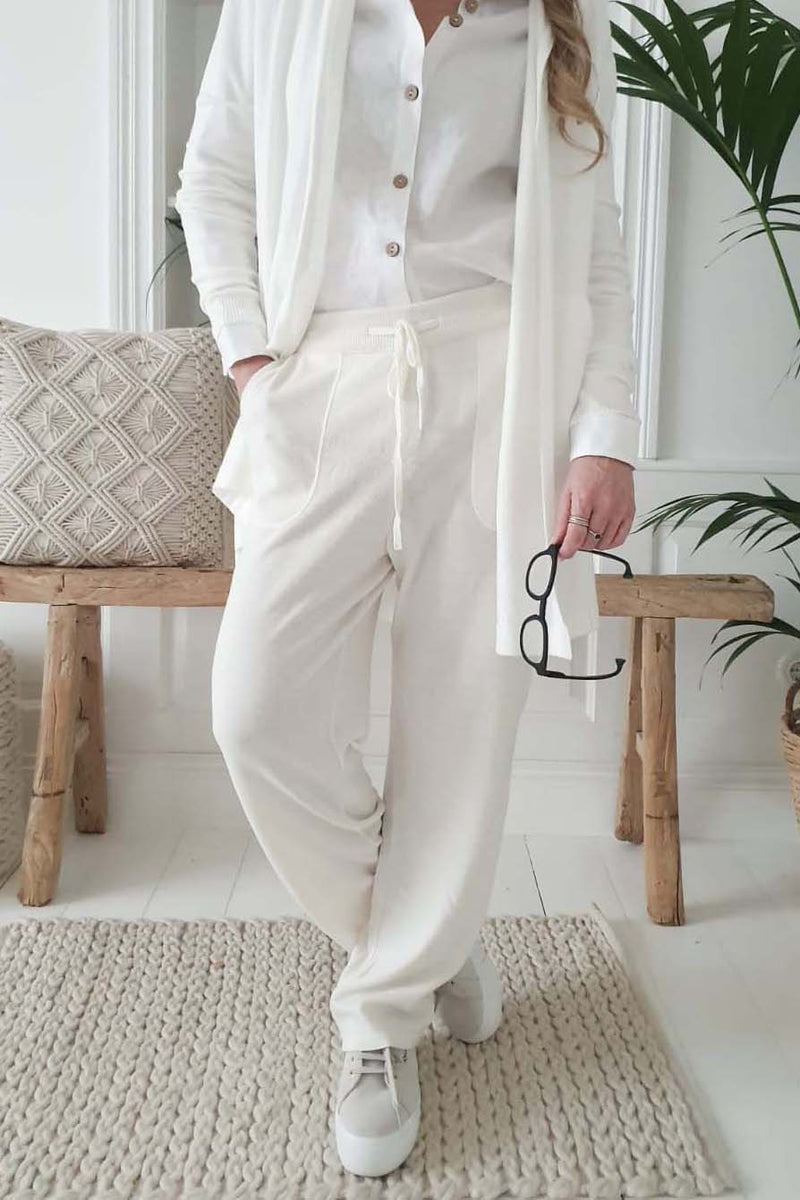 TENDER TOUCH PANTS OFFWHITE