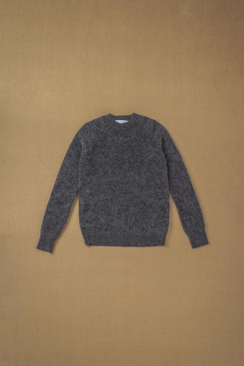 SOFT BOYFRIEND SWEATER CHARCOAL