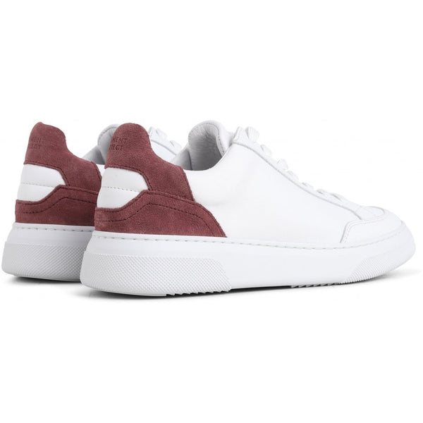 OFF COURT WHITE / BURGUNDY