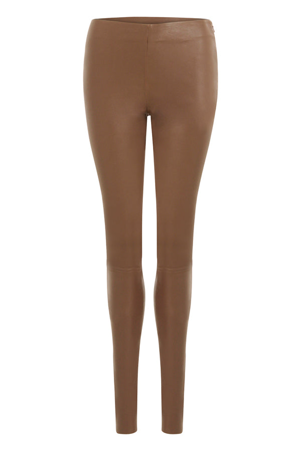 LEATHER STRETCH LEGGINGS - MYNTE