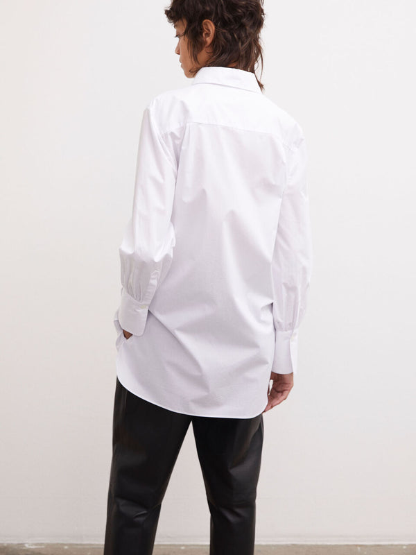 MARTIQUES COTTON SHIRT WHITE