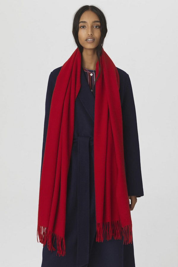 EMENTARY SCARF RED