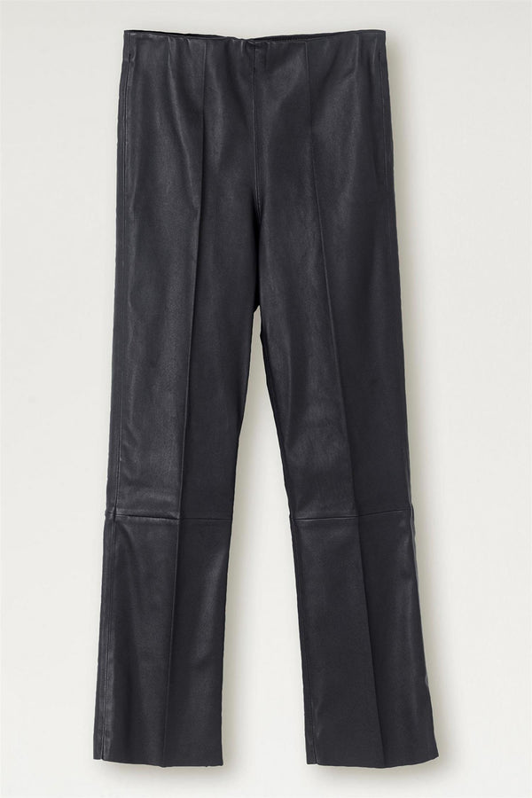 FLORENTINA LEATHER PANTS BLUE