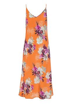 FRAGRANCE SLIP DRESS ORANGE