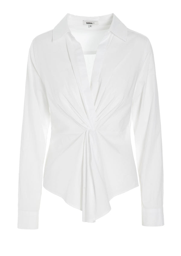 HANNA KNOTTED SHIRT