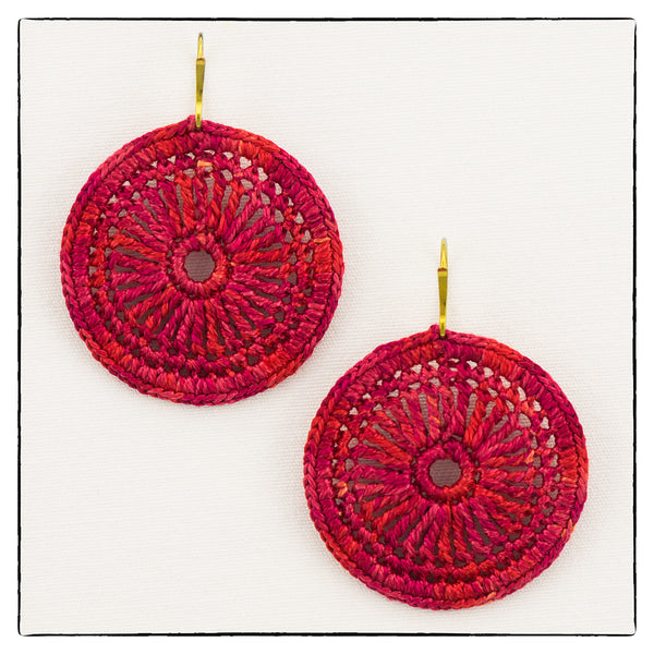 Kim Medium Size Earrings 4cm