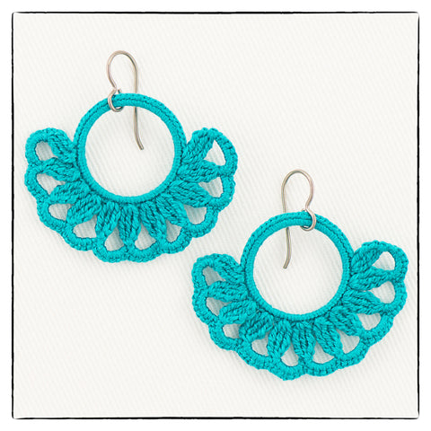 Emma Mini Medium Size Earrings 4 x 3.5cm