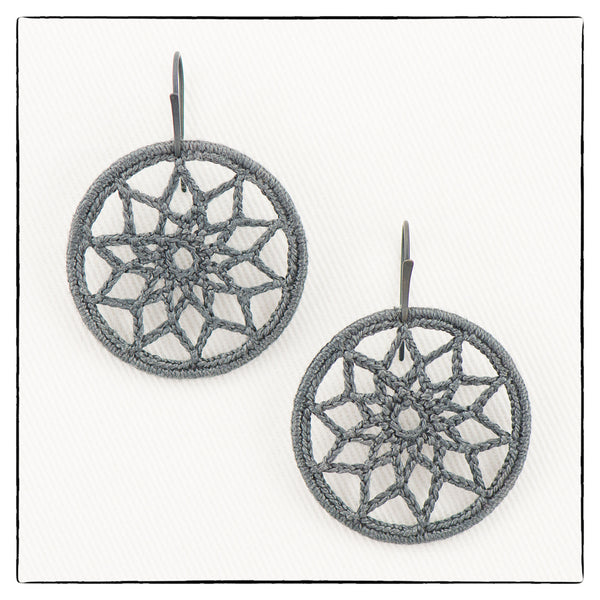 Helen Mini Medium Size Earrings 3.5cm