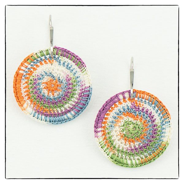 Lucy Small Round Earrings 2.5cm