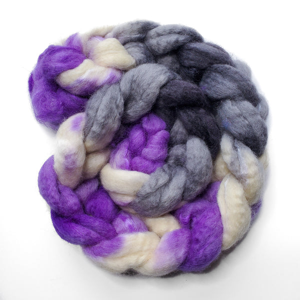 Asexual Pride - Unspun Roving