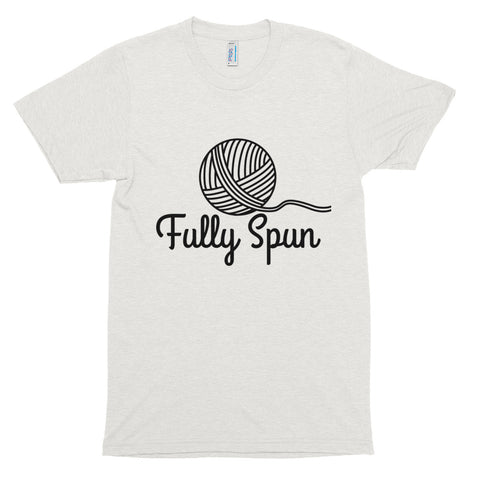 Fully Spun Short Sleeve Tri-Blend T-Shirt Oatmeal