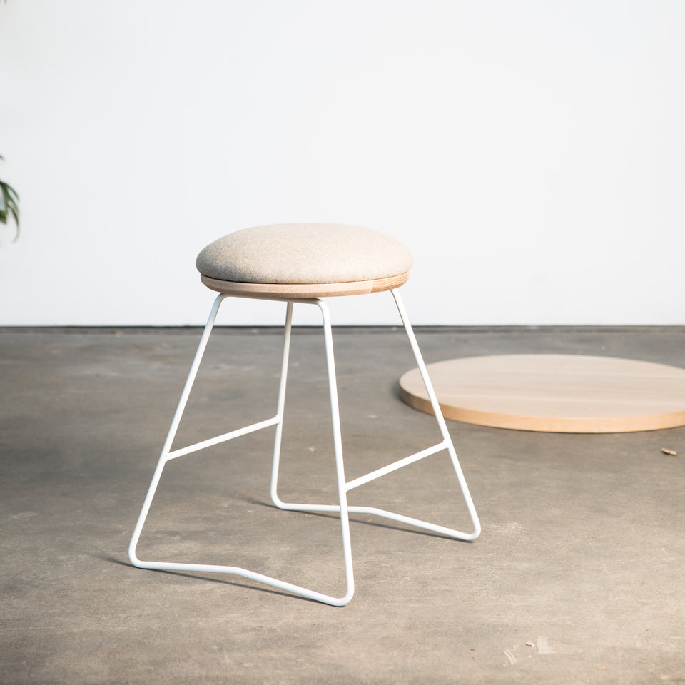 HS450 soft top stool - Hunt Furniture