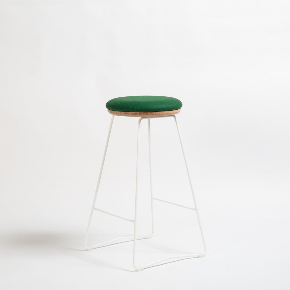 HS650 soft top stool - Hunt Furniture