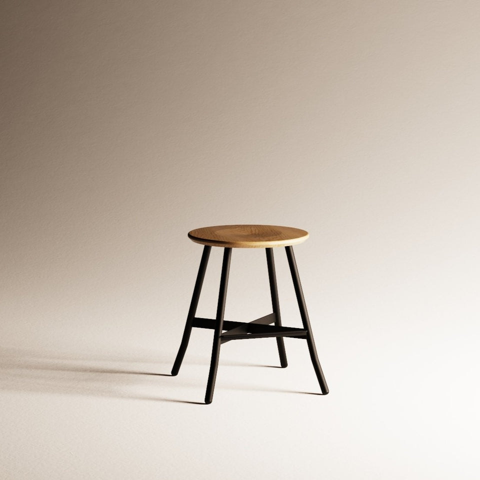 Moth Low Stool - Hunt Furniture