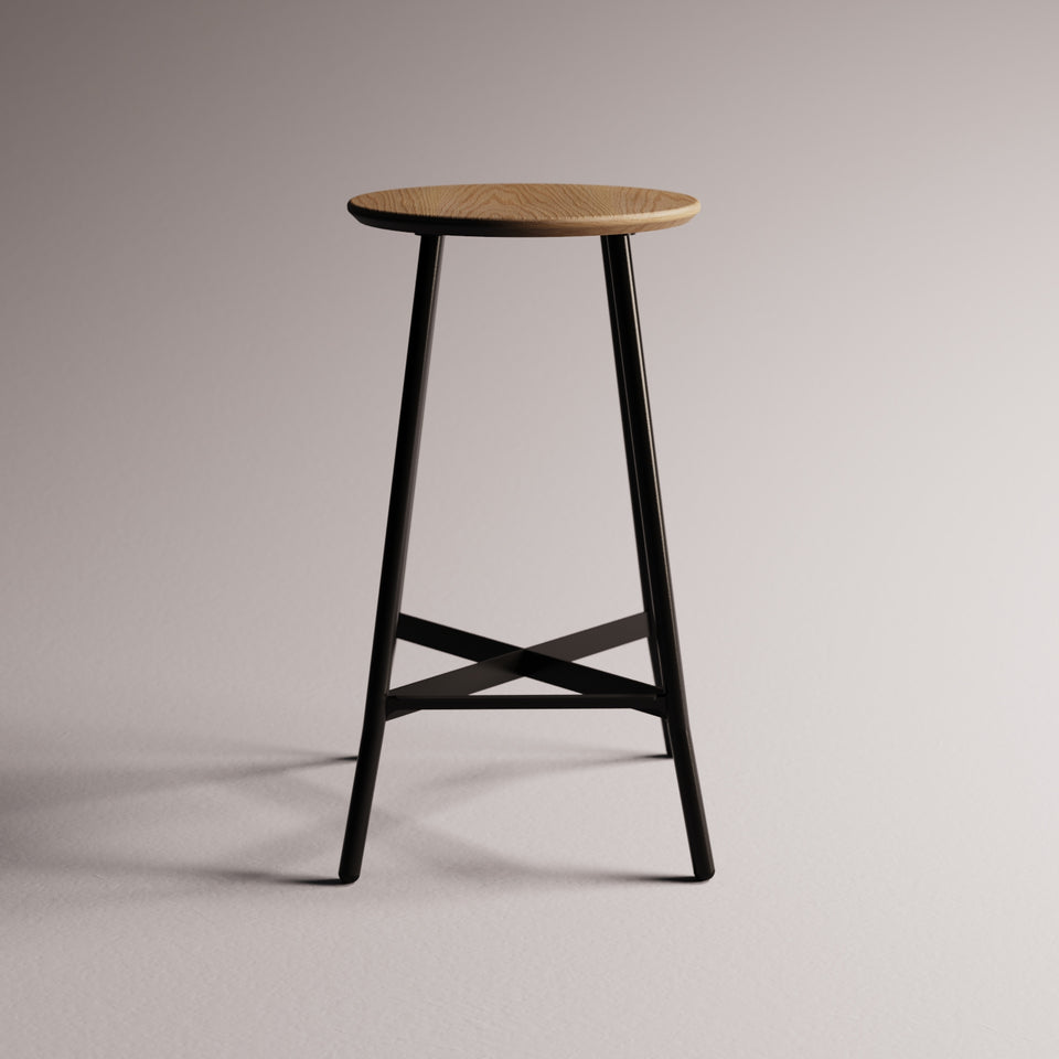 Moth High Stool - Hunt Furniture