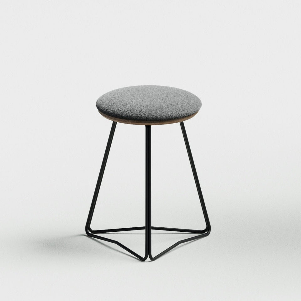 TRI450 soft top stool - Hunt Furniture