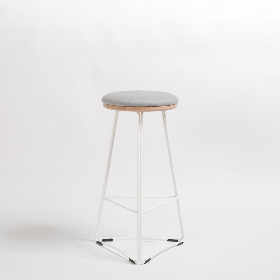 TRI650 soft top stool - Hunt Furniture
