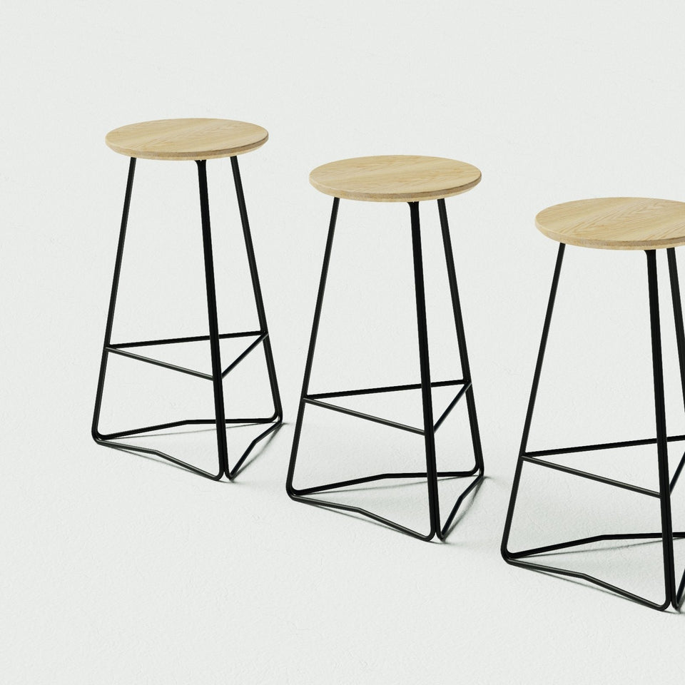 TRI650 stool - Hunt Furniture
