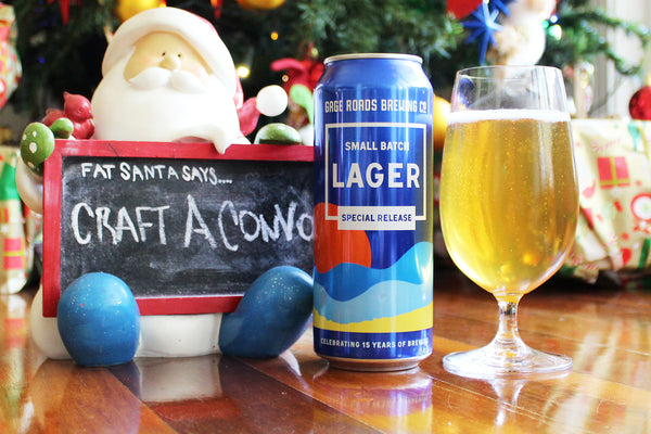 GAGE ROADS BREWING CO. SMALL BATCH LAGER