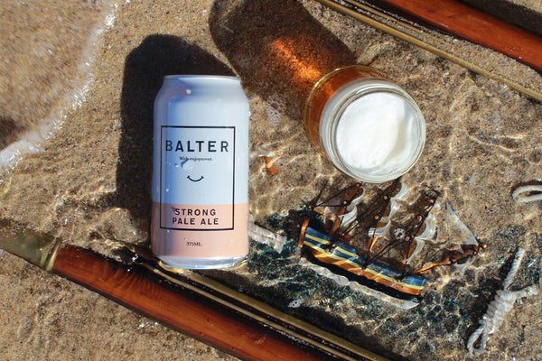 BALTER BREWING COMPANY STRONG PALE ALE