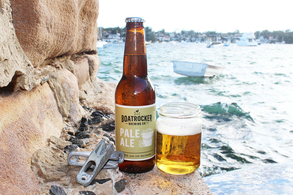 BOATROCKER BREWERY PALE ALE