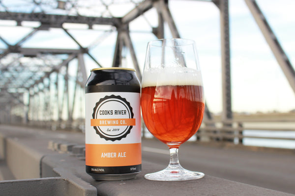 COOKS RIVER BREWING CO AMBER