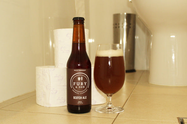 FURY & SON BREWING COMPANY SCOTCH ALE