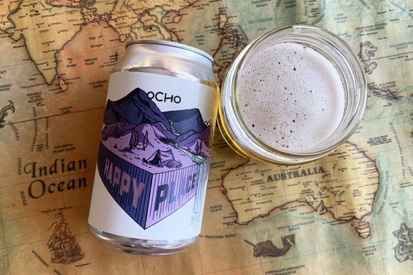 OCHO BEER HAPPY PLACE