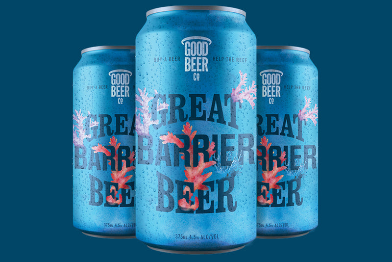 Great Barrier Beer. 24 x 375mL cans