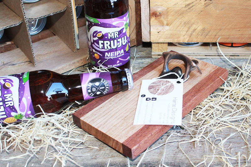 Australian hardwood bottle opener handcrafted by Harte Designs
