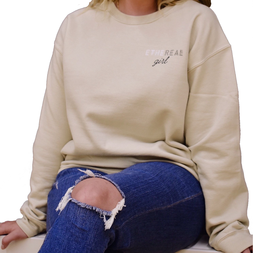 Ethereal Girl Crewneck