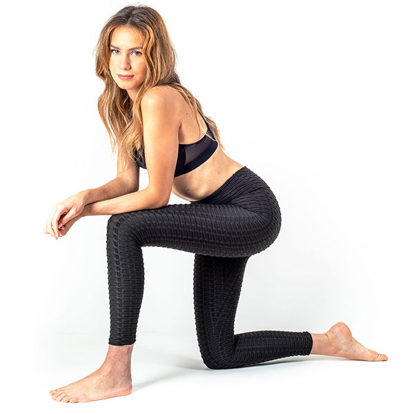 LEGGING ANTI-CELLULITE PUSH-UP NOIR