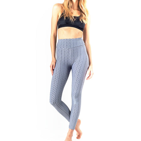 LEGGING ANTI-CELLULITE PUSH-UP GRIS