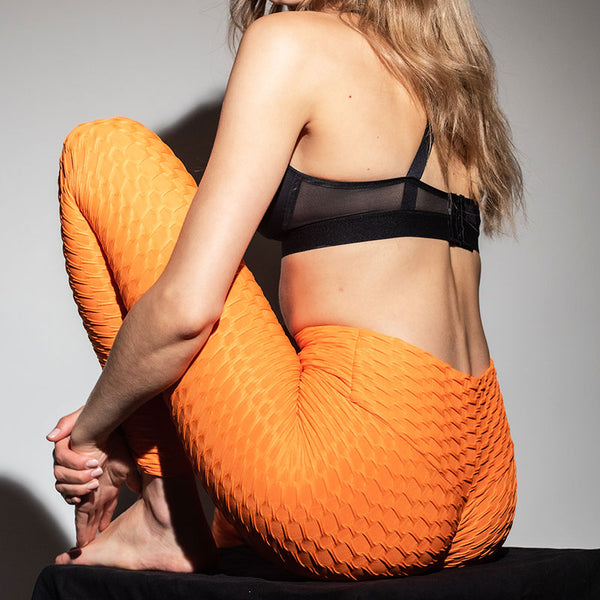 LEGGING ANTI-CELLULITE PUSH-UP ORANGE