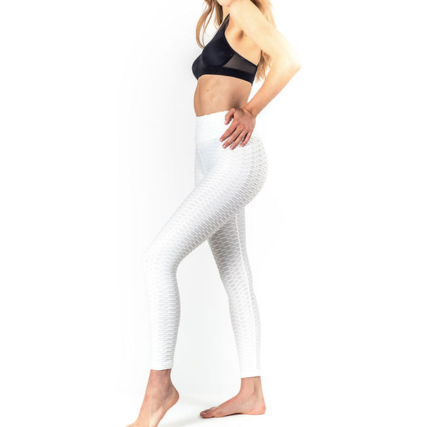 LEGGING ANTI-CELLULITE PUSH-UP BLANC