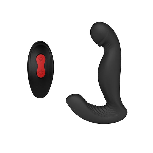 Prostate Massager with Remote Controller - Rainbow gay Shop
