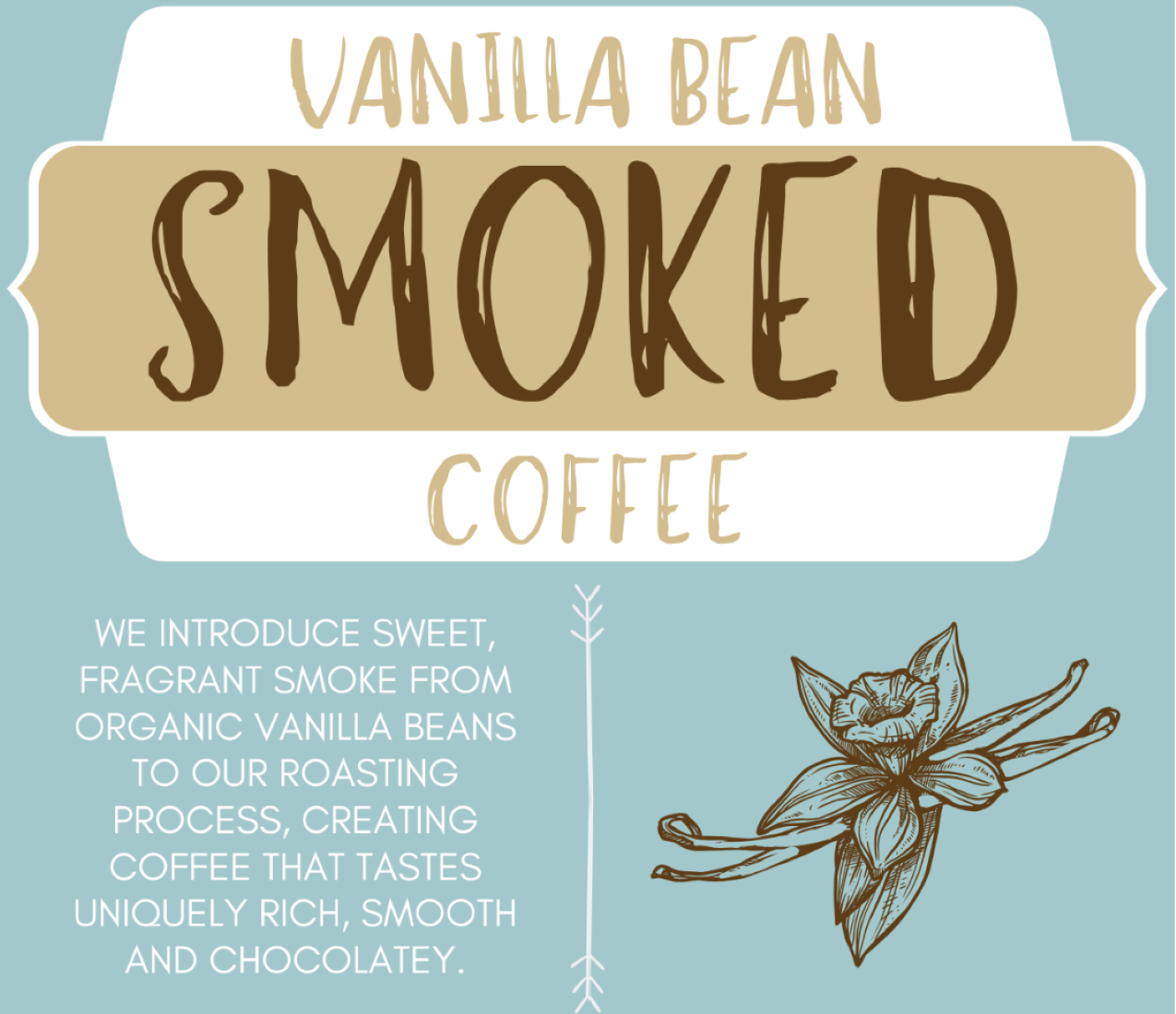 Henry Fundraiser - Vanilla Bean Smoked Coffee