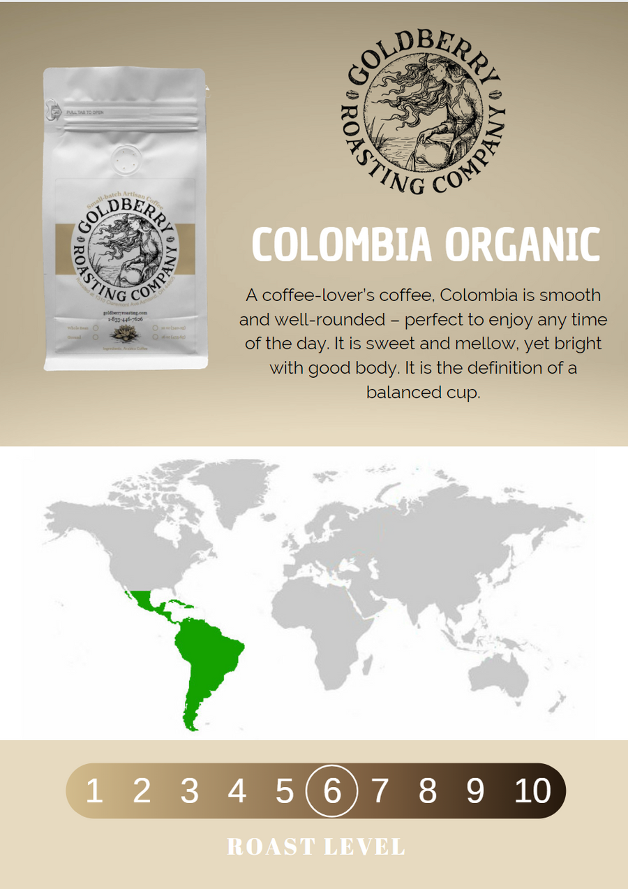 Wholesale - Colombia Organic Fair Trade