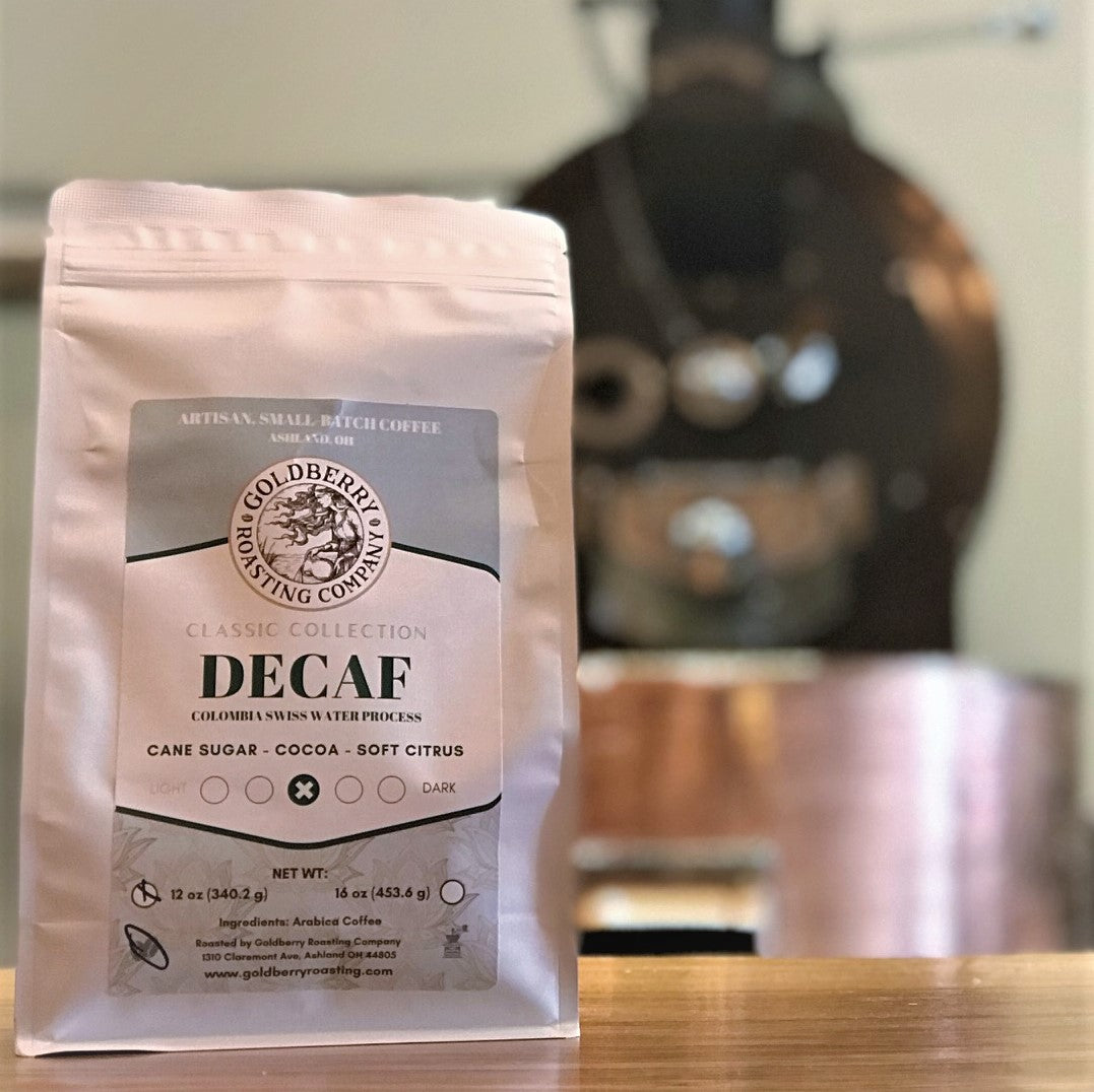 Henry Fundraiser - Colombia Decaf: Swiss Water Process