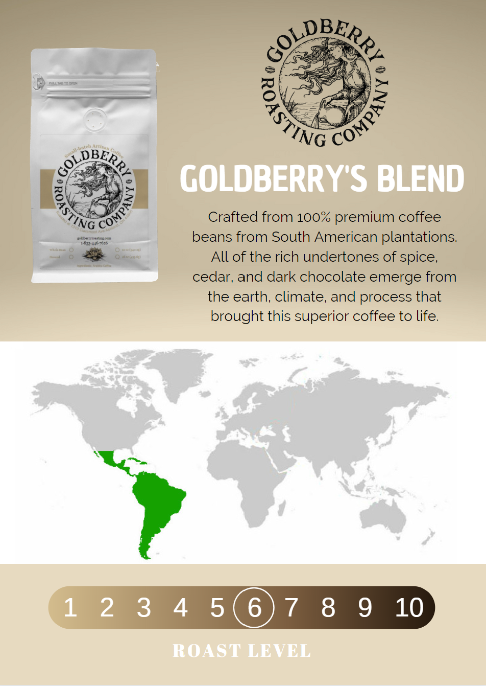 Wholesale - Goldberry's Blend