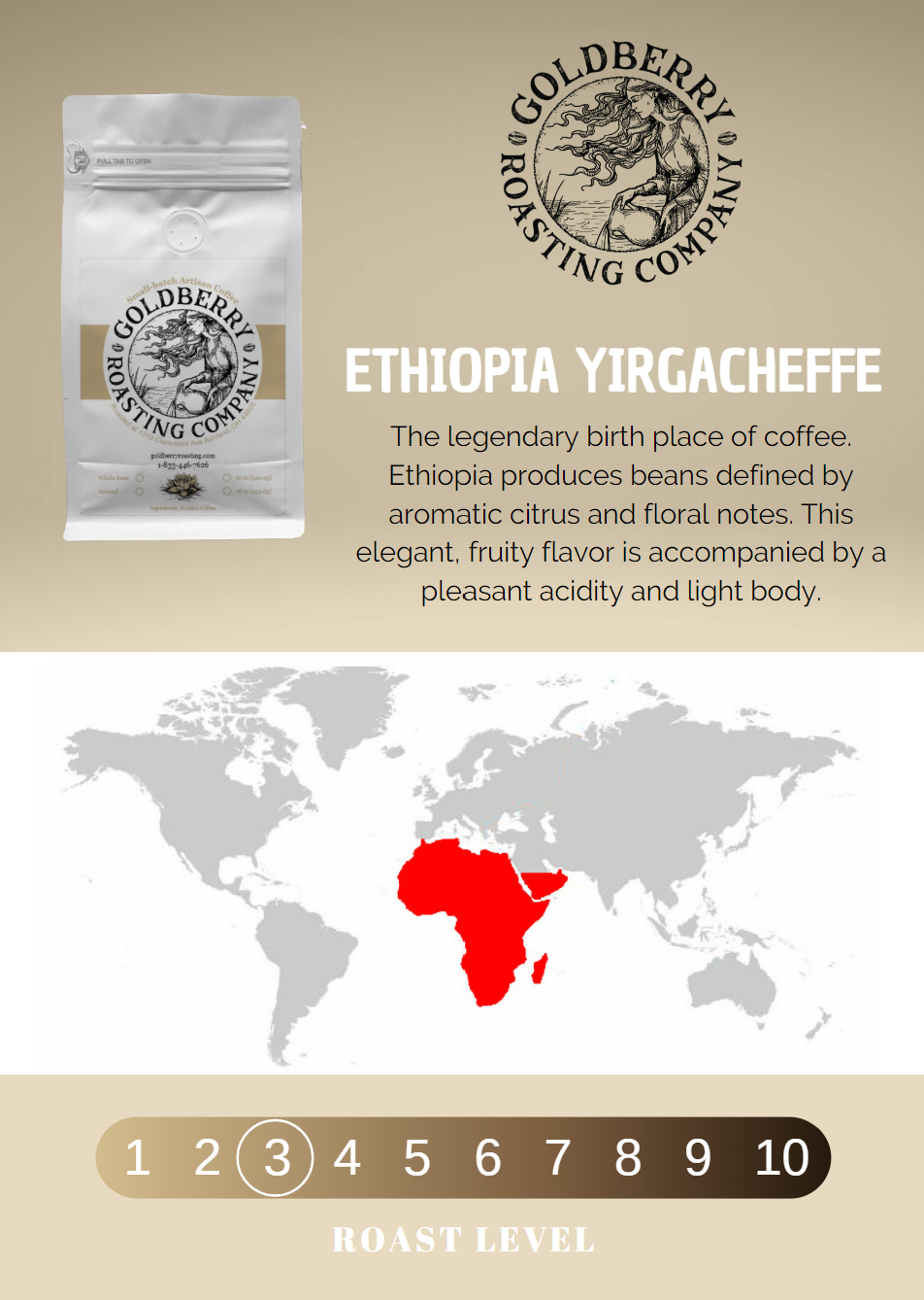Wholesale - Ethiopia Yirgacheffe Fair Trade
