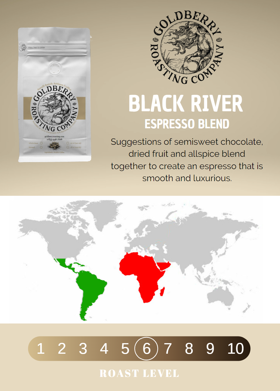 Wholesale - Black River Espresso Blend