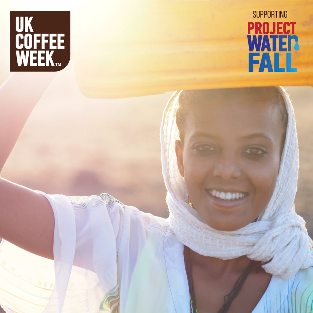 UK Coffee Week and Project Waterfall support Ethiopian coffee growing communities.