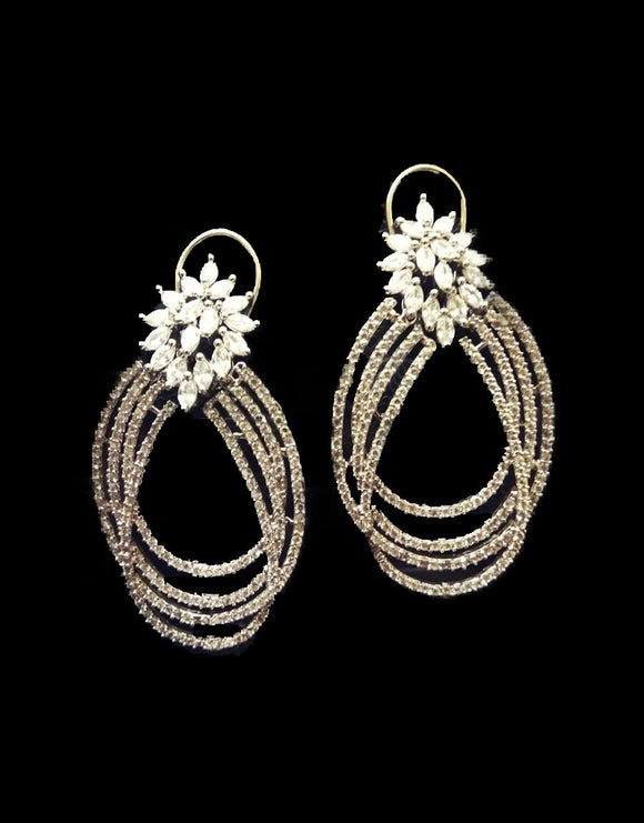 Diamond Earrings - Ziva Art Jewellery