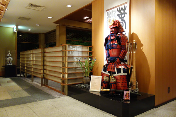 Samurai Store Display In ANA InterContinental Tokyo 2019